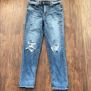 Express Jeans. Size 2. Girlfriend fit